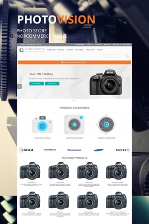 Show details for NopCommerce Photo Vision Theme
