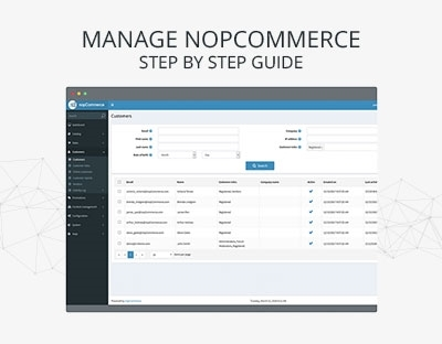 Picture for category Manage nopCommerce